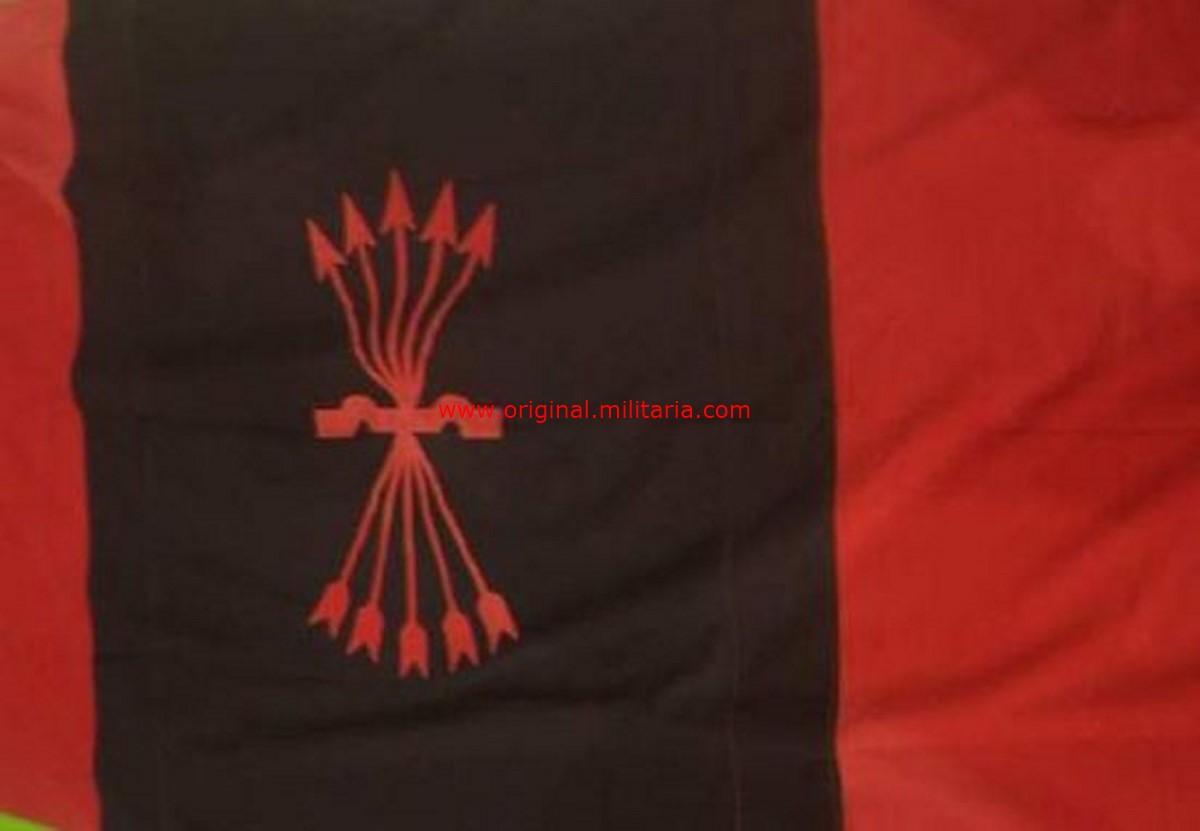 Falange, Bandera de Guerra Civil.